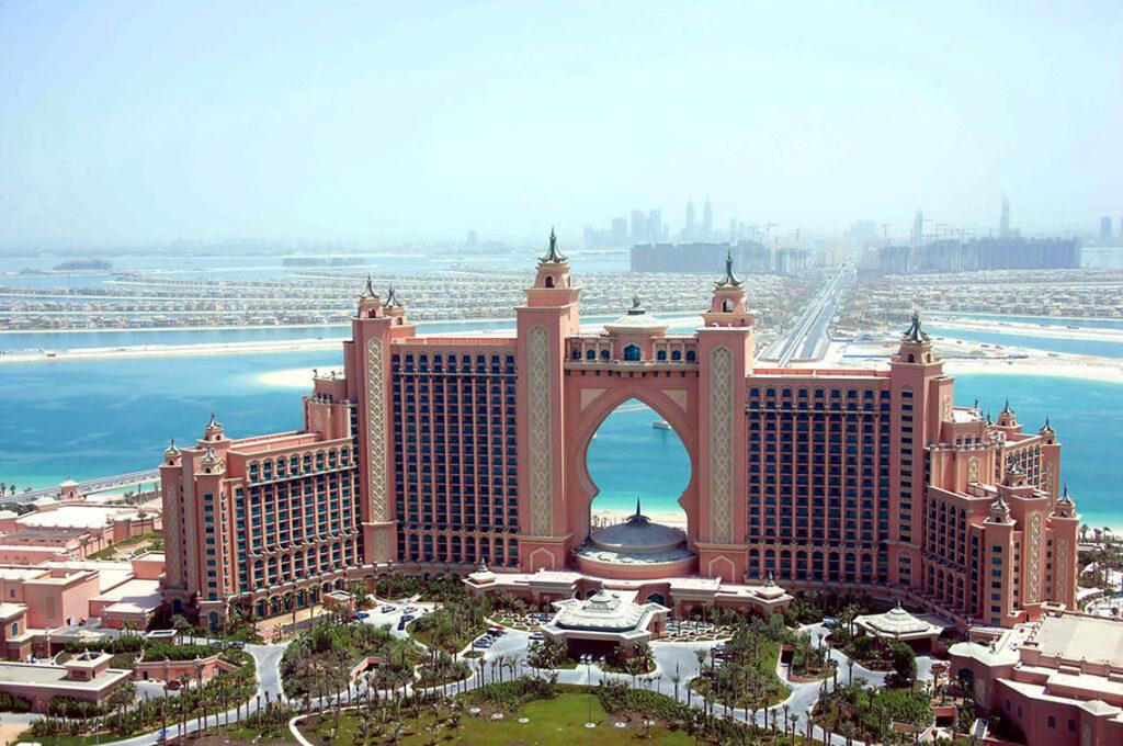 هتل آتلانتیس در جزیره مصنوعی نخل دبی
