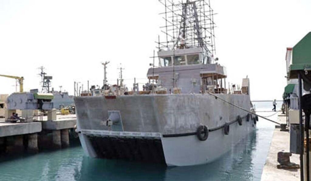 مین شکار ایرانی صبا نیروی دریایی ارتش ساخت سازمان صنایع دریایی وزارت دفاع