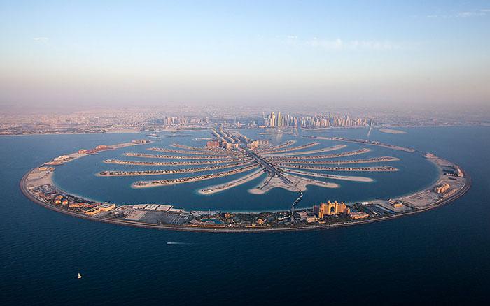 جزيره نخل دبي