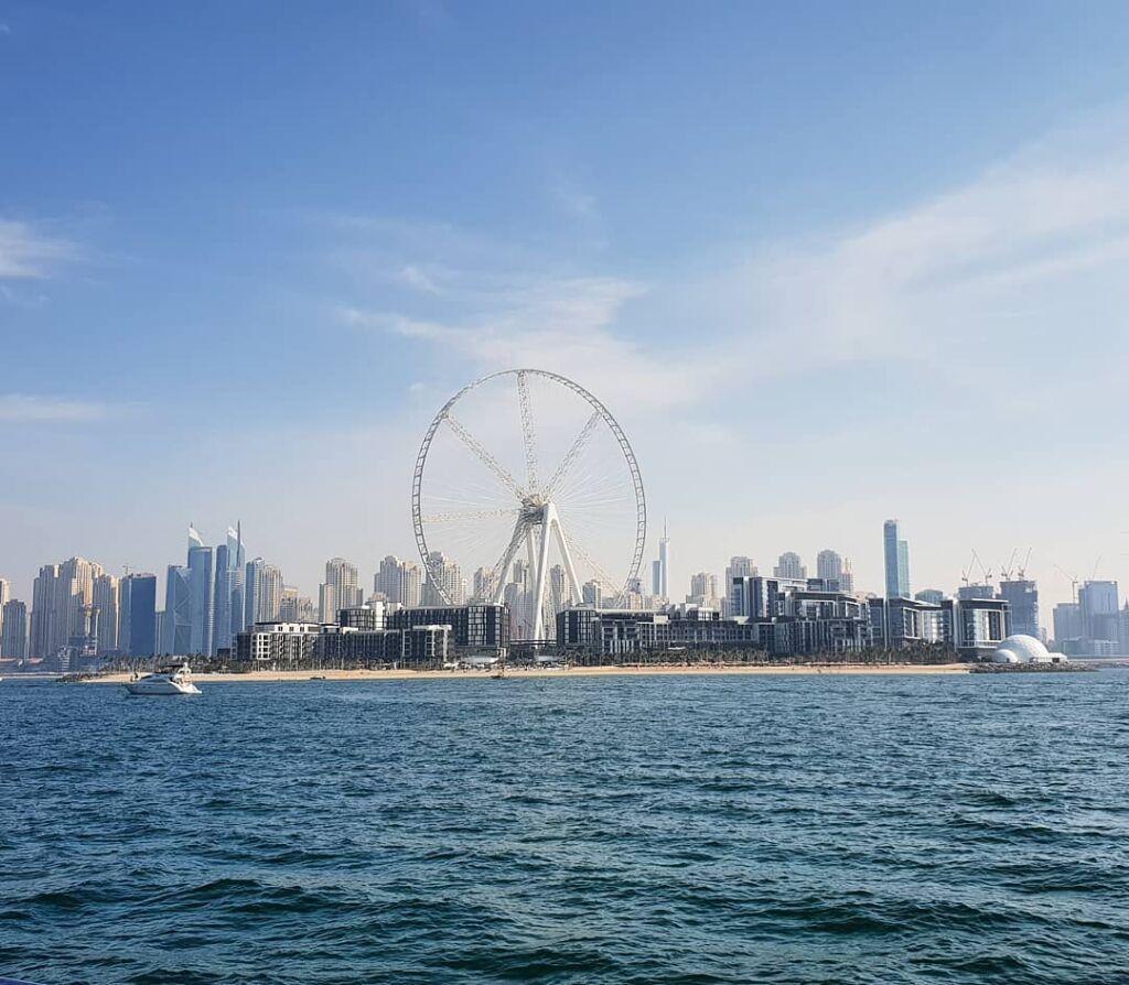چشم دبی بزرگترین چرخ و فلک جهان